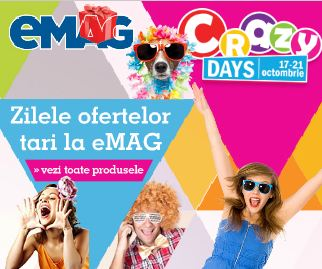 crazy days eMAG