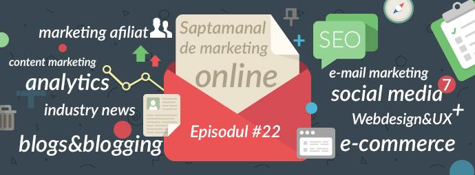 saptamanal de marketing online
