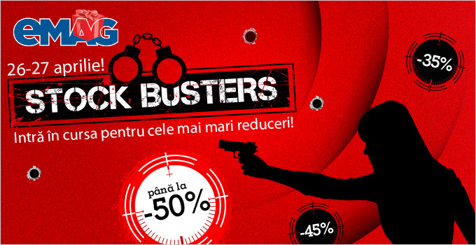 Stock Busters eMAG afiliere