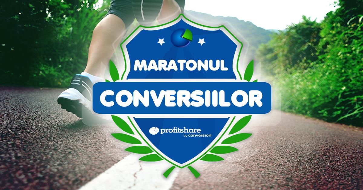 maratonul conversiilor - facebook